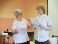 S paní Janou Postlerovou - seminář v rámci letního ateliéru HM 2016